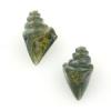 Lamp Bead Nobilis Shell 2Pc 25mm Treasure